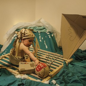 Fotografia: recreant escenes de pel·lícules en família