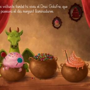Senda i el Drac Golafre: una història interactiva per a tauletes