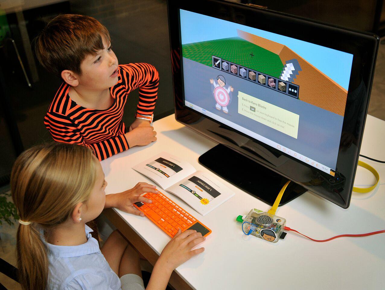 nens kano kit pantalla