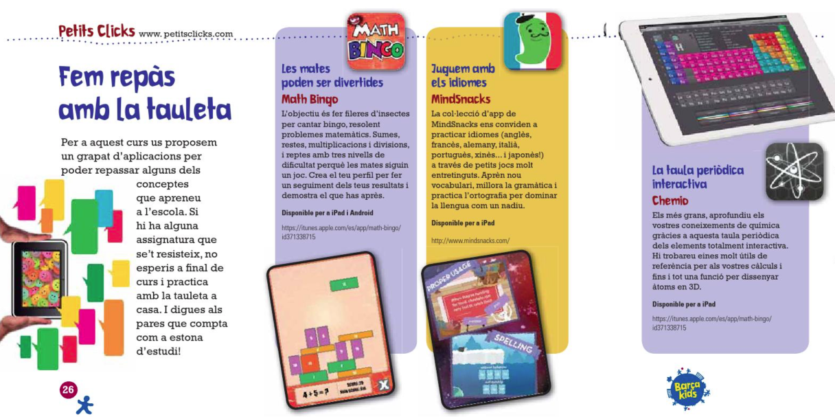 BARÇA KIDS - PETITSCLICKS