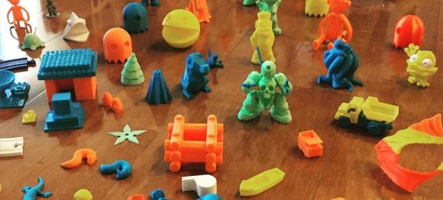 Una impressora 3D per imprimir joguines: Toybox