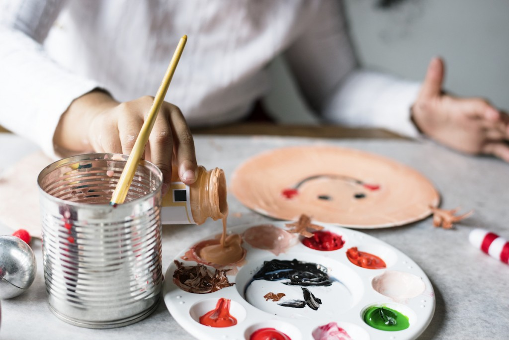 Apps i vídeos diy creatius infants petits manualitats nens treballs manuals