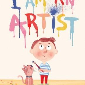 """""""I am an artist"""", llibre per a petits artistes d'una autora catalana"""