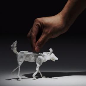 """Animals de paper, una animació feta amb """"kleenex"""""""