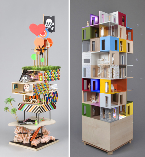 dollhouse-tower-designs