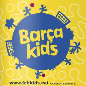 Col·laborem amb la revista Barça Kids: un repàs del millor del 2013