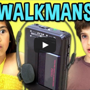 Un walkman vist pels nens d'avui