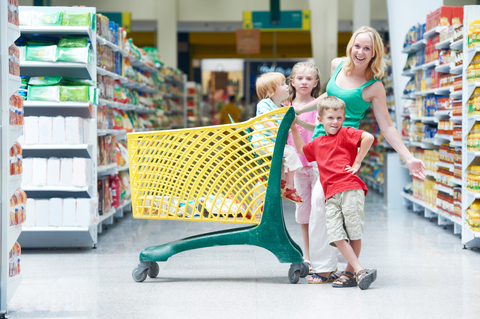 http://www.dreamstime.com/royalty-free-stock-photography-family-shopping-woman-children-shop-cart-supermarket-store-image29720347