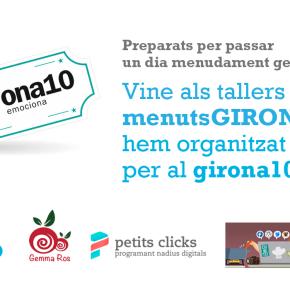 Veniu al taller de tecnologia & creativitat per a nens al Girona 10!