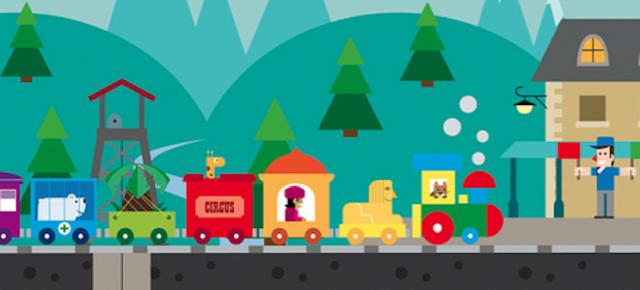 xu-xu, xu-xu... Juga a trens amb una app!