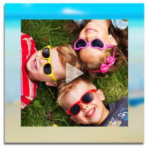 Fes un vídeo amb els teus records de les vacances!