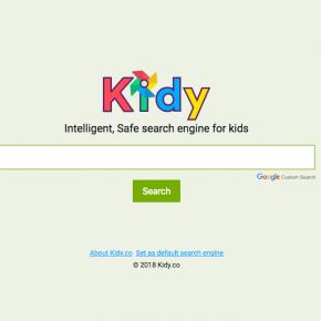 Kidy, el nou cercador fet especialment per als nens